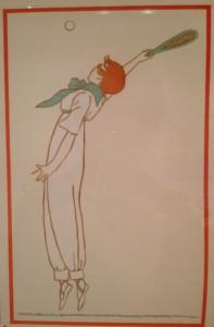 1910s tennis player